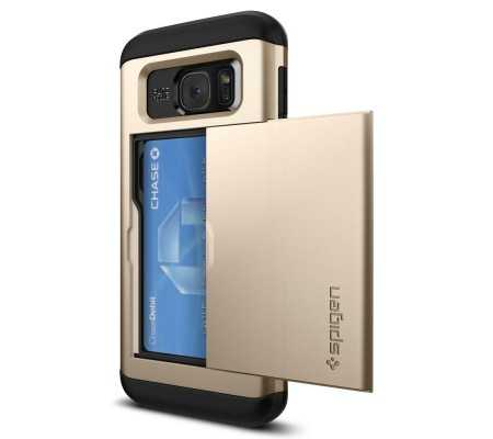 "Spigen 556CS20256 5.5"" Wallet case Black,Champagne,Gold mobile phone case"