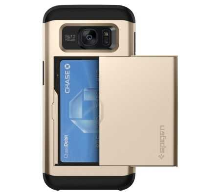 Spigen Galaxy S7 Edge Case Slim Armor CS Gold, Phone Cases, Best Buy Cyprus, Samsung Cases, 556CS20256OK SPIGEN