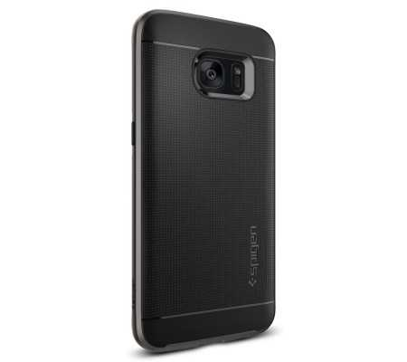 Spigen Galaxy S7 Edge Case Neo Hybrid Gun Metal, Phone Cases, Best Buy Cyprus, Samsung Cases, 556cs20143OK #SPIGEN