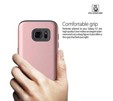 Araree Galaxy S7 Case Amy Hard Back Case Pure White, Phones & Wearables, Best Buy Cyprus, Phone Cases, AR20-00141EOK #Araree