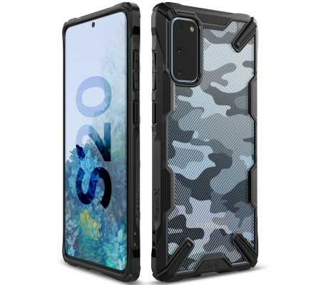 Ringke Fusion-X Design Samsung Galaxy S20 Camo Black, Phones & Wearables, Best Buy Cyprus, Phone Cases, RGK1105MOB #RINGKE