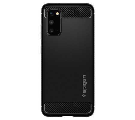 Spigen Rugged Armor Galaxy S20 Matte Black