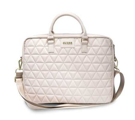 "Guess GUCB15QLPK 15"" pink Quilted"
