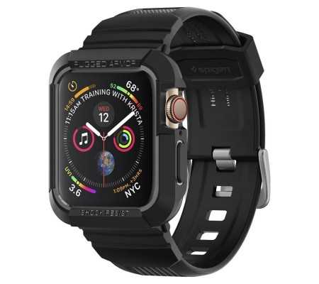 Spigen Rugged Armor Pro Apple Watch 5/4 (44mm) Black, Phone Cases, Best Buy Cyprus, Apple Cases, SPN224BLK SPIGEN,