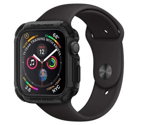Spigen Tough Armor Apple Watch 5/4 (44mm) Black