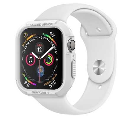 Spigen Rugged Armor Apple Watch 4/5 (40mm) White, Home, Best Buy Cyprus, Phones & Wearables, SPN864WHT SPIGEN,  bestbuycyprus