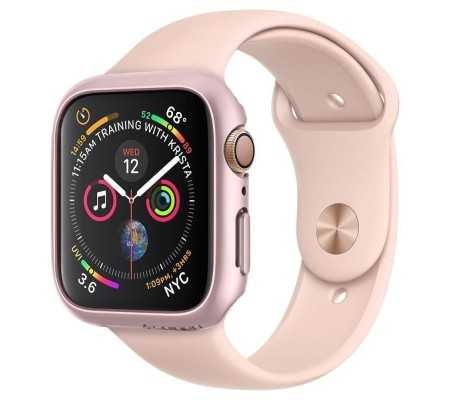 Spigen Thin Fit Apple Watch 4/5 (40mm) Rose Gold