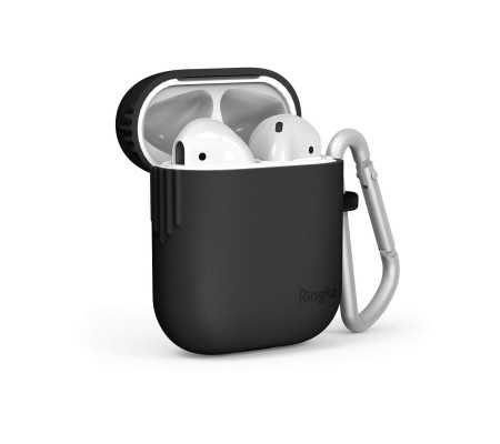 TPU Case Ringke for Apple AirPods Black, Phone Cases, Best Buy Cyprus, Apple Cases, RGK1007BLK RINGKE,  bestbuycyprus, best buy