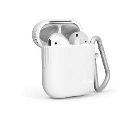TPU Case Ringke for Apple AirPods White, Phone Cases, Best Buy Cyprus, Apple Cases, RGK1008WHT RINGKE,  bestbuycyprus, best buy