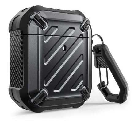 Supcase Unicorn Beetle Pro Apple Airpods Black, Phone Cases, Best Buy Cyprus, Apple Cases, SPC083BLK SUPCASE