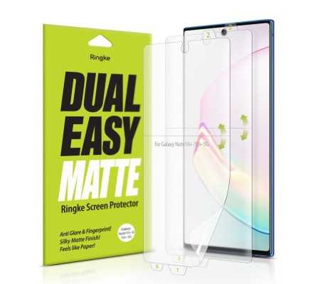Ringke Dual Easy Matte Full Cover Samsung Galaxy Note 10 Plus Case Friendly, Phone Cases, Best Buy Cyprus, Screen Protectors