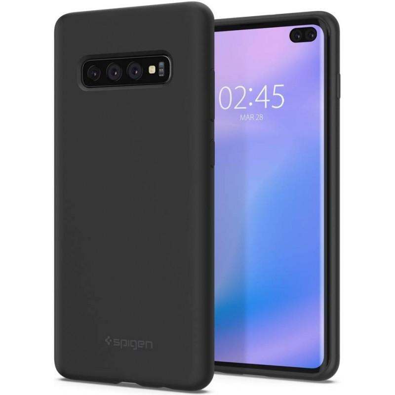Spigen Silicone Fit Samsung Galaxy S10 Plus Black