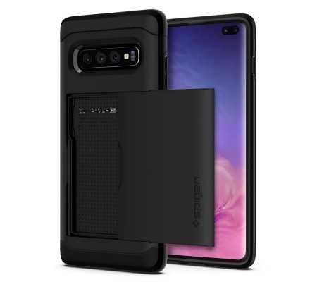 Spigen Slim Armor CS Galaxy S10+ Plus Black, Phones & Wearables, Best Buy Cyprus, Phone Cases, SPN671BLK SPIGEN
