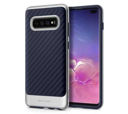 Spigen Neo Hybrid Galaxy S10+ Plus Arctic Silver, Phones & Wearables, Best Buy Cyprus, Phone Cases, SPN678SLV SPIGEN,
