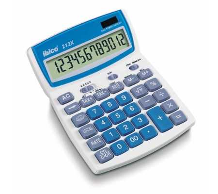 Rexel Ibico 212X Desktop Calculator White/Blue, Best Buy Cyprus, Calculators