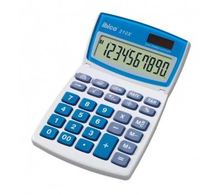 Rexel Ibico 210X Desktop Calculator White/Blue, Best Buy Cyprus, Calculators