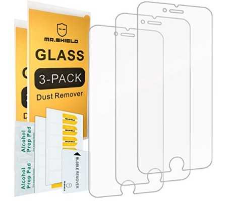 [3-PACK]-Mr Shield For iPhone 6 / iPhone 6S [Tempered Glass] Screen Protector