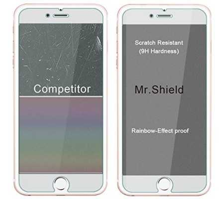 [3-PACK]-Mr Shield For iPhone 6 / iPhone 6S [Tempered Glass] Screen Protector, Best Buy Cyprus, iPhone 6s