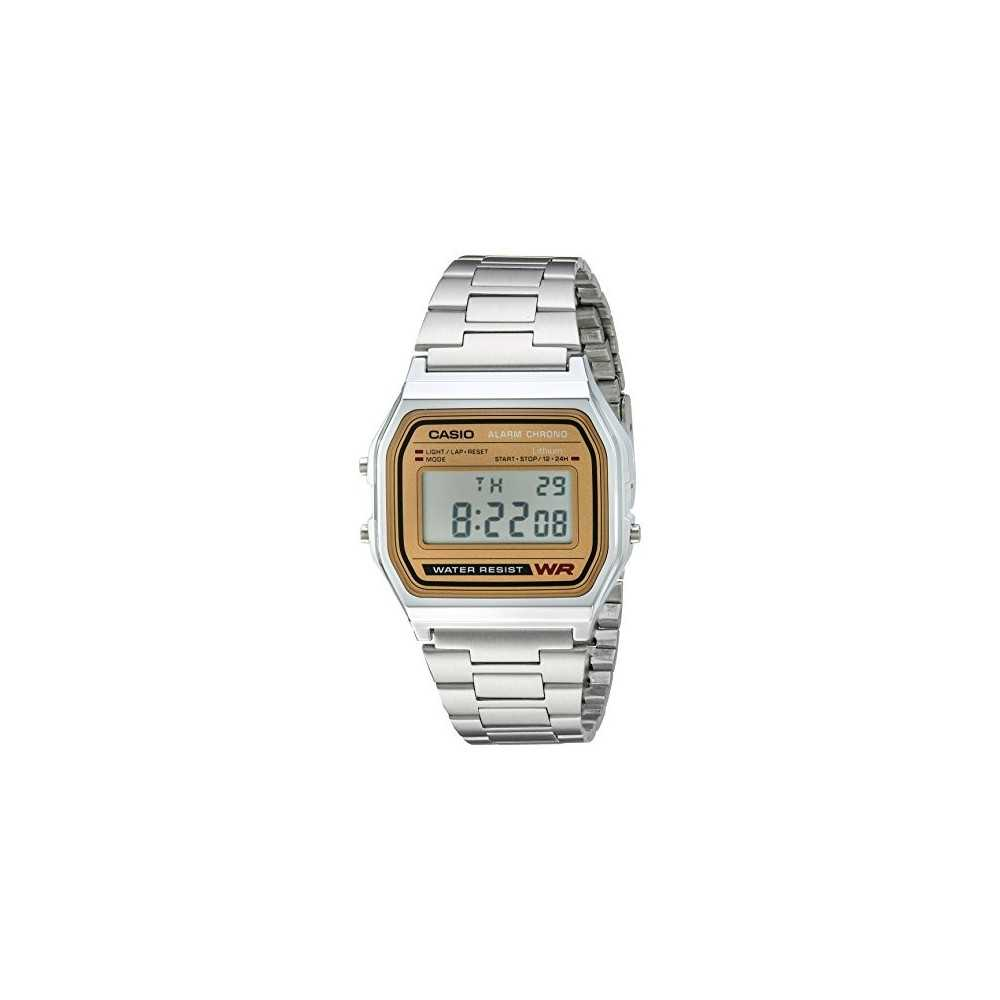 Casio Men's A158WEA-9CF Casual Classic Digital Bracelet Watch, Best Buy Cyprus, Clocks and Watches