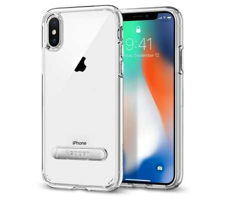 Spigen Ultra Hybrid iPhone X Case with Air Cushion Technology Crystal Clear, Best Buy Cyprus, iPhone X