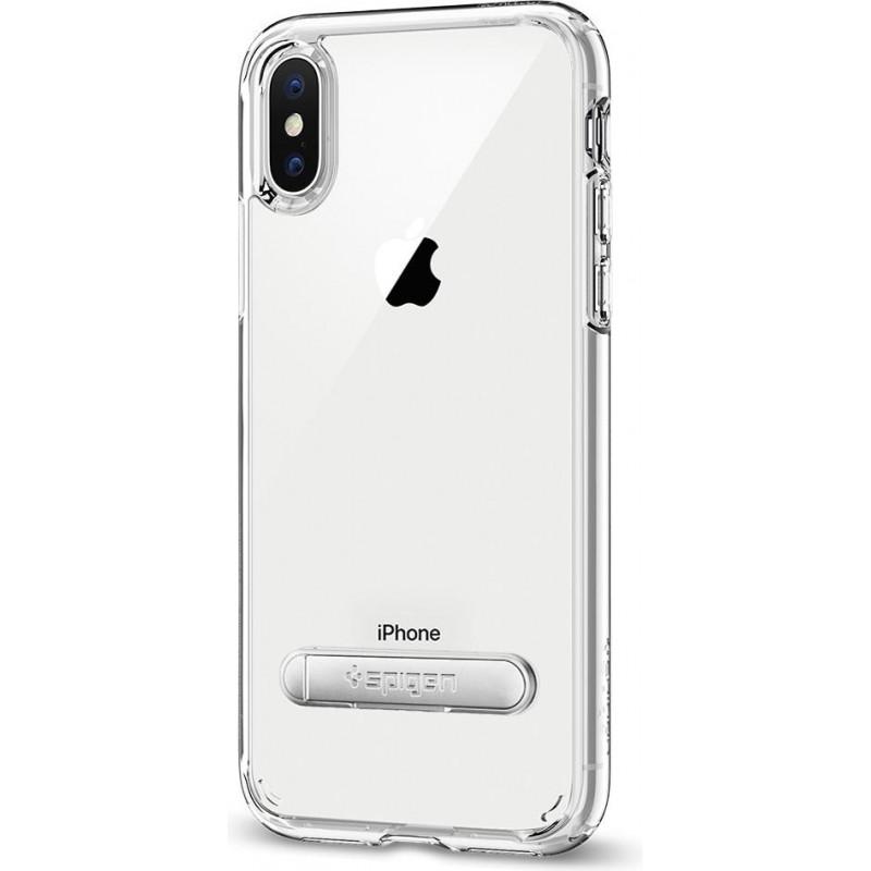 reputable site 80e49 467e8 Spigen iPhone X/XS Case Ultra Hybrid S Crystal Clear
