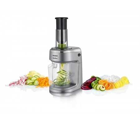 Severin KM 3923 Chrome, Plastic Chrome electric grater, Best Buy Cyprus, Food Processors