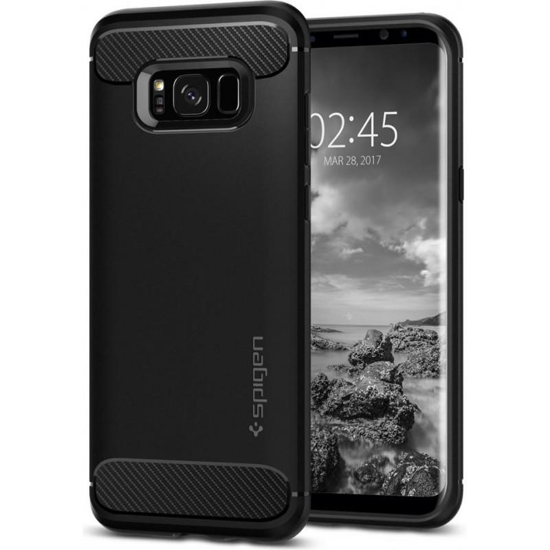 Spigen Galaxy S8 Case Rugged Armor Black, Best Buy Cyprus, Galaxy S8