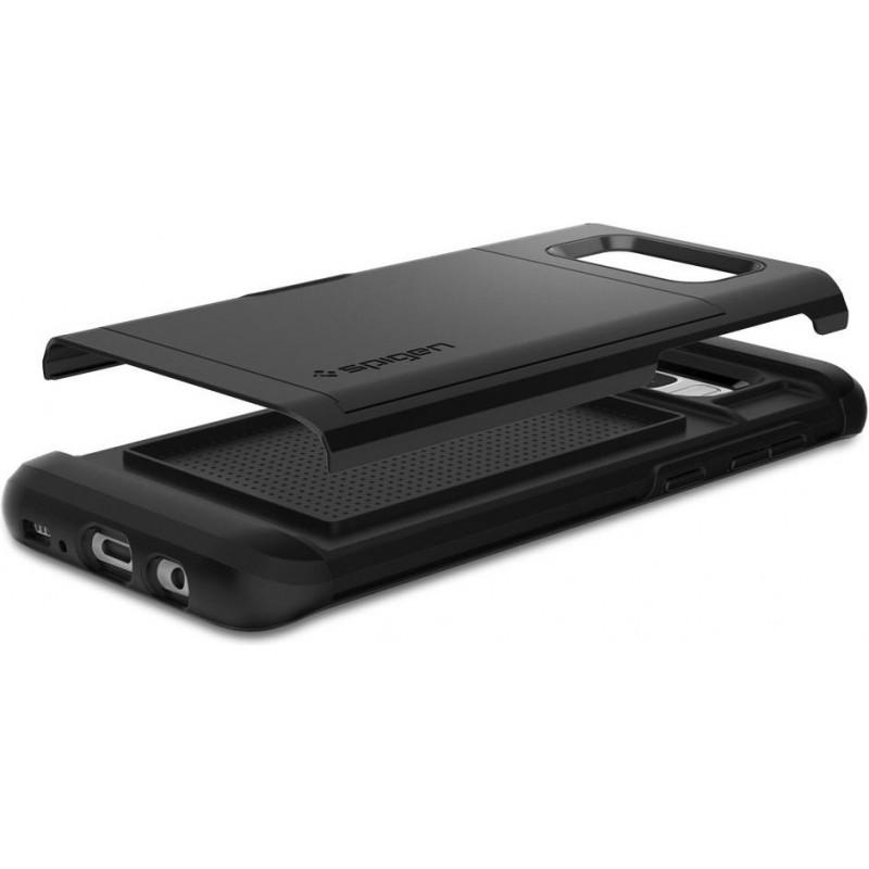 Spigen Galaxy S8 Plus Case Slim Armor CS Black