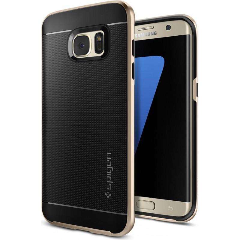 Spigen Galaxy S7 Edge Case Neo Hybrid Champagne Gold, Phones & Wearables, Best Buy Cyprus, Phone Cases, 556CS20203OK SPIGEN,