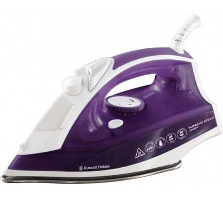 Russell Hobbs 23060-56 iron Dry & Steam iron Stainless Steel soleplate Purple,White 2400 W, Ironing, Best Buy Cyprus, Steam Iron