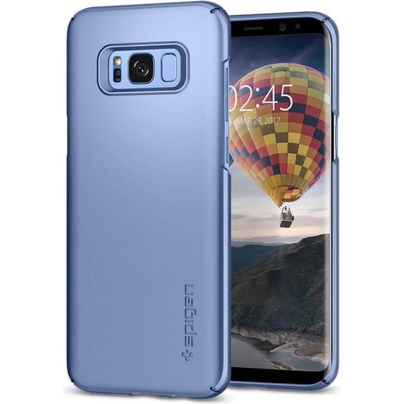 Spigen Galaxy S8 Plus Case Thin Fit Blue Coral, Phones & Wearables, Best Buy Cyprus, Phone Cases, 571CS21677 #SPIGEN