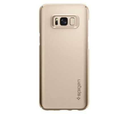 Spigen Galaxy S8 Plus Case Thin Fit Gold Maple
