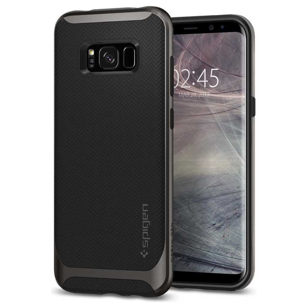 huge discount 0c95b 8e566 Spigen Galaxy S8 Plus Case Neo Hybrid Gunmetal | Best Buy Cyprus