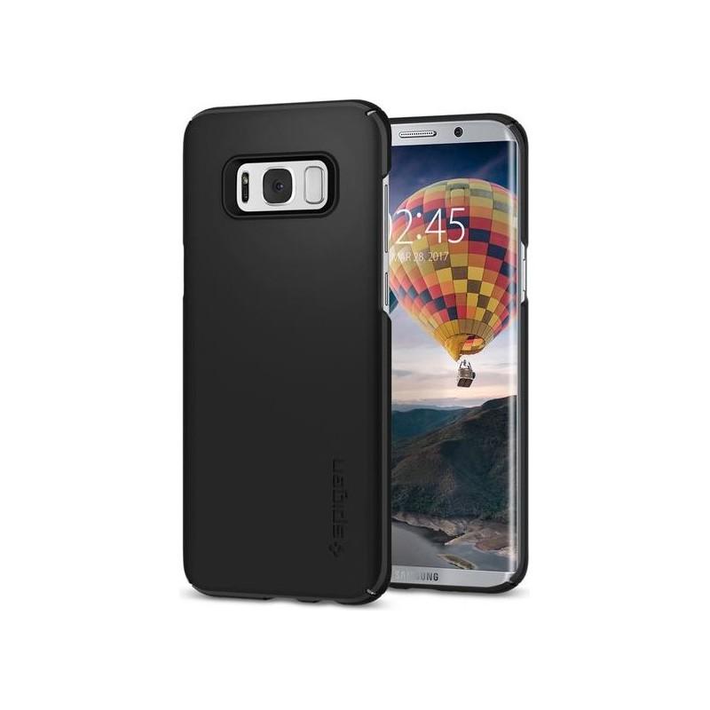 wholesale dealer cf1cc 01395 Spigen Galaxy S8 Plus Case Thin Fit Black
