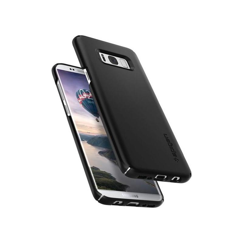 wholesale dealer 8d9c9 e5d6d Spigen Galaxy S8 Plus Case Thin Fit Black