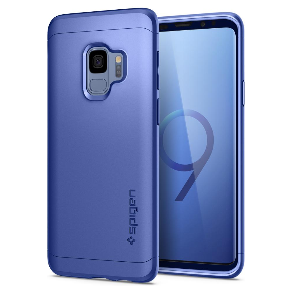 best sneakers d227a 12022 Spigen Galaxy S9 Case Thin Fit 360 Blue