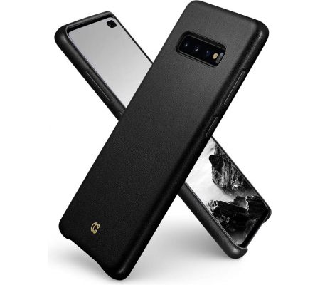 Ciel by CYRILL Leather Collection Samsung Galaxy S10 Plus Case - Black