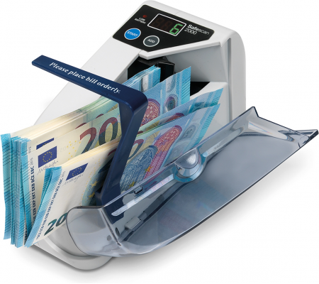 Safescan 2000 Portable Banknote Counter