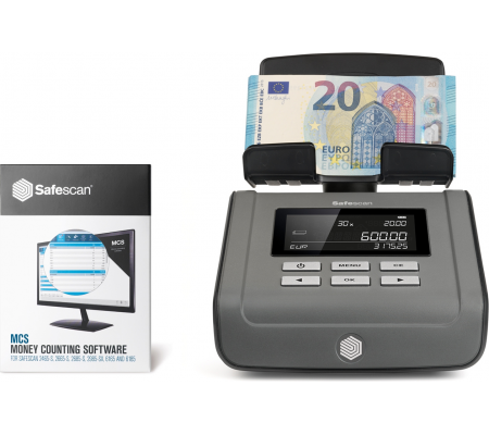 Safescan 6165 Money Counting Scale, Time & Money Handling, Best Buy Cyprus, Banknote Counters, Safescan6165 Safescan