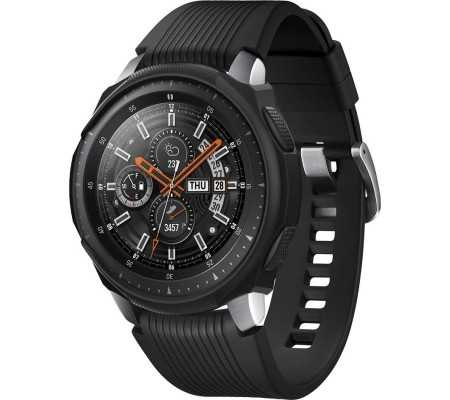 Spigen Liquid Air Samsung Galaxy Gear S3/Watch 46mm Black Case, Phones & Wearables, Best Buy Cyprus, Smart Watch Accessories