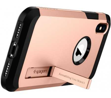 Spigen iPhone X/XS Case Tough Armor Gold,  #bestbuycyprus, Double the layer, double the protection. The Tough Armor™ is a fan