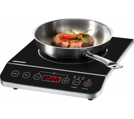 Unold Inductions-Heating Element Elegance,  #bestbuycyprus, Unold 230.066. Product colour: Black,Stainless steel, Appliance