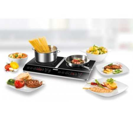 Unold Inductions-Heating Element Doppel Elegance,  #bestbuycyprus, Description Whether as a supplement to the stove or as a