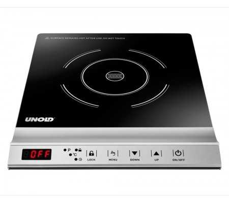 Unold 58255 Induction Cooker Single Pro, Cooking, Best Buy Cyprus, Freestanding Hobs, 58255 Unold,  bestbuycyprus, best buy